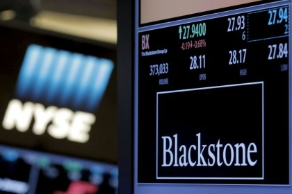 Blackstone tem lucro acima do esperado no 3ºtri impulsionada por avanço do mercado