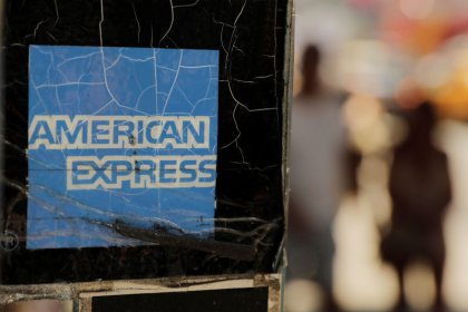 AmEx tops profit estimates on higher consumer spending