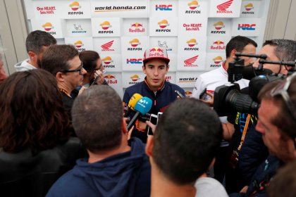 Dovizioso logra la pole en Japón, Márquez empezará sexto