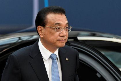 Chinese premier tells European, Asian leaders Beijing will continue reform