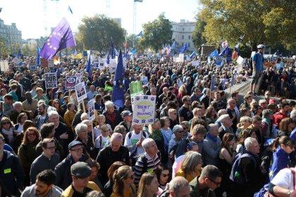Manifestation monstre à Londres pour un second référendum sur le Brexit