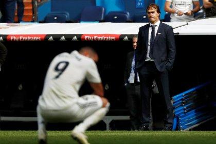 El Madrid encadena su tercera derrota seguida pese a acabar con sequía goleadora