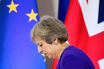 With divorce deal almost done, May repeats rejection of EU proposal on Northern Ireland