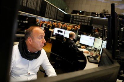 Italian rating move helps European shares snap losing streak