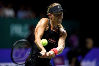 Tennis: Calm Stephens edges Osaka, Kerber stunned by Bertens