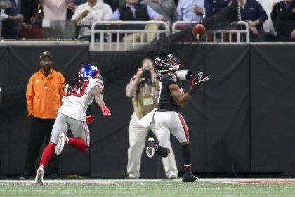Falcons hand Giants fourth consecutive loss