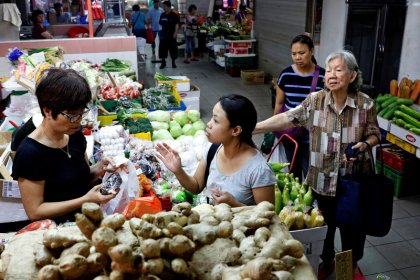 Singapore core inflation edges down in September, surprising economists