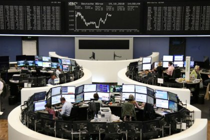 European shares at lowest levels in nearly two years