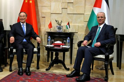China inks free trade agreement MOU with Palestine