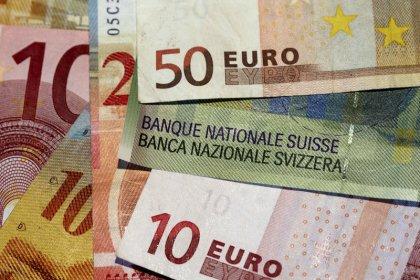 Yen, Swiss franc firm as Wall St slide weighs on dollar