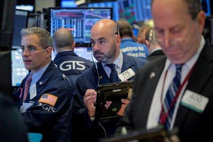 Уолл-стрит закрылась в плюсе третьи торги подряд, бумаги Apple подешевели после закрытия сессии
