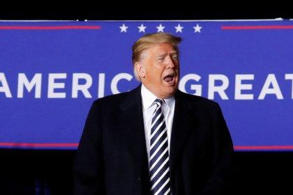 Jobmotor brummt vor US-Kongresswahl - Trump jubelt