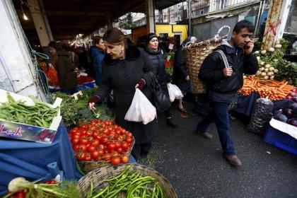 Inflation in der Türkei klettert wegen Währungskrise auf 25 Prozent