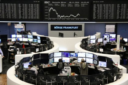 European shares slip as Fed saps post U.S. midterms rally