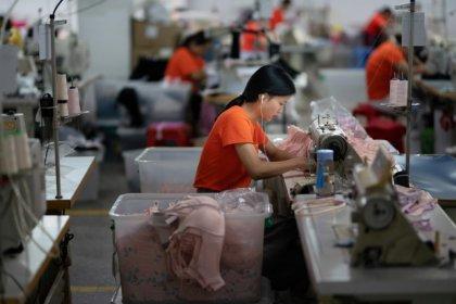 Inflação ao produtor na China desacelera de novo em outubro por demanda doméstica fraca