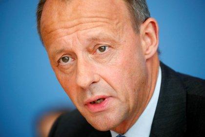 Merz verspricht als CDU-Chef Kanzlerin Merkel Unterstützung