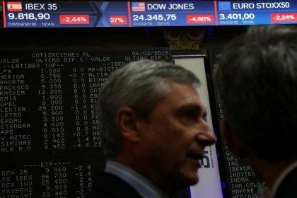 El Ibex termina con baja, BBVA tropieza sobre planes para banca en México