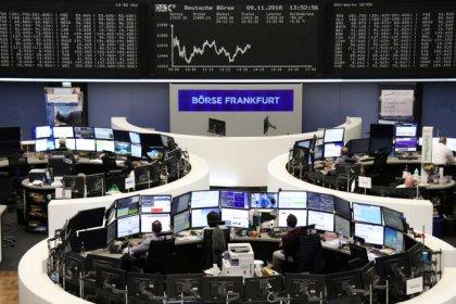 Tech, tobacco push European stocks into red, ending fragile rebound