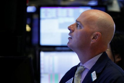 Wall Street falls; Apple, Goldman Sachs shares under pressure
