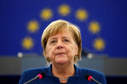 Germany's Merkel calls for a European Union military