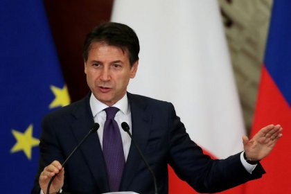 Italy PM says replying to EU on budget on Tuesday