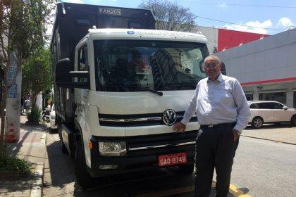 Ambev e Volkswagen concluem piloto de testes de 1º caminhão elétrico para transportar bebidas