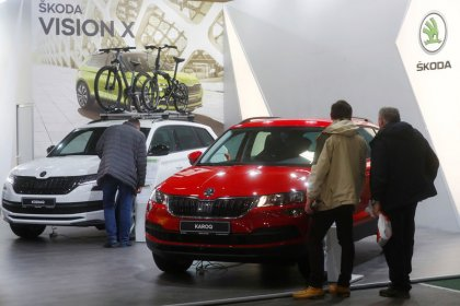 VW's Skoda Auto says Oct deliveries down 7.4 percent year on year