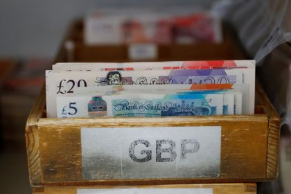 Pound dives as May fights for survival