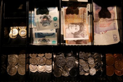 Sterling scarred by Brexit turmoil; Asia shares cling to trade hopes