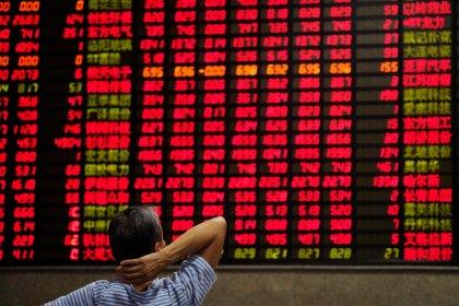 Índices da China fecham semana em alta com apoio do setor financeiro