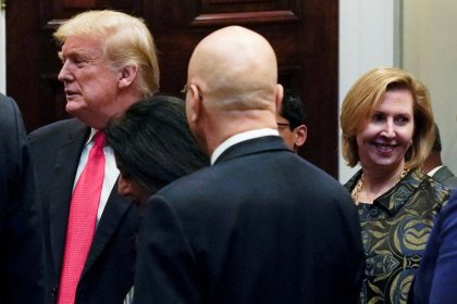 Forced out, Bolton aide Ricardel expresses admiration for Trump, Melania