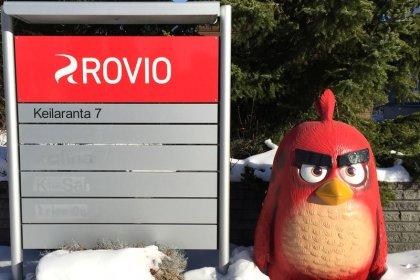 Ações da Rovio, produtora do Angry Birds, sobem após forte resultado trimestral