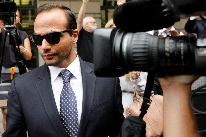 Ex-Trump campaign aide Papadopoulos asks to put off prison pending Mueller appeal