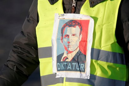 Macron's popularity dips as French fuel tax revolt simmers