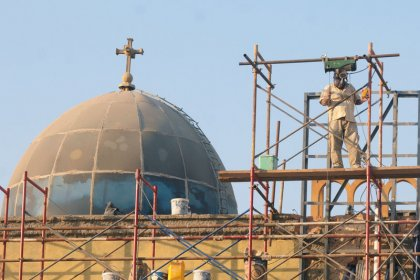 Copts inaugurate renovated St. Mark's Cathedral in Cairo
