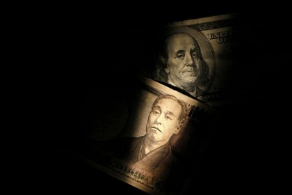 Dollar pressured as Fed officials caution about global growth, yen firms