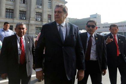 El expresidente peruano García pide asilo político a Uruguay en medio de investigación