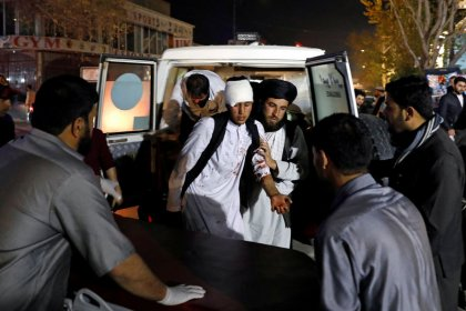 Mindestens 50 Tote bei Explosion in Festsaal in Kabul