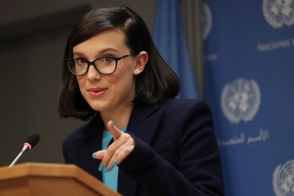 Netflix star Millie Bobby Brown, 14, named youngest-ever UNICEF envoy