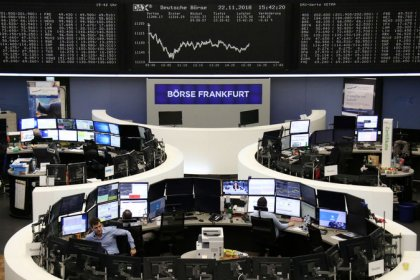Italy helps European stocks stage a modest recovery but growth worries linger