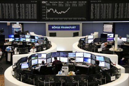 Italian stocks, banks surge on reports government to tweak deficit plan