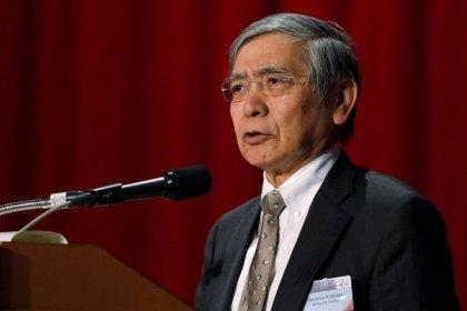 Presidente do BC do Japão sinaliza espaço para elevar estímulo diante de aumento de riscos econômicos