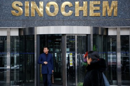 Former Sinochem chief sentenced to 12 years for graft - state media