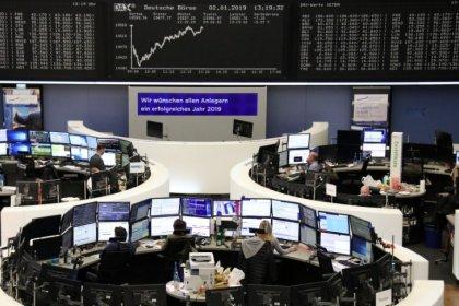 Apple warning shakes European shares as iPhone suppliers, luxury stocks tumble