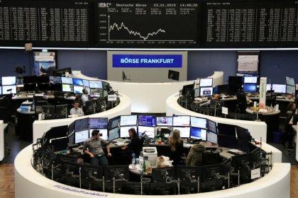European shares gain as U.S.-China trade talks trigger relief