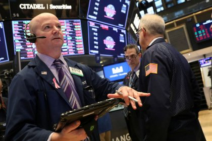 Wall Street's five-day rally stumbles ahead of earnings