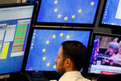 European stocks, banks gain after Brexit deal defeat while UK shares lag