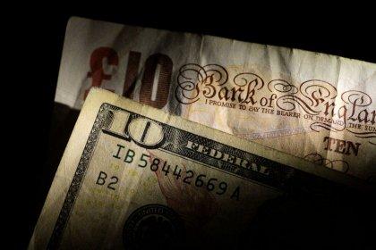 Dollar up on bleak EU outlook, pound bolstered by hopes of soft Brexit