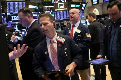Stocks little changed amid China, trade worries; pound stabilizes