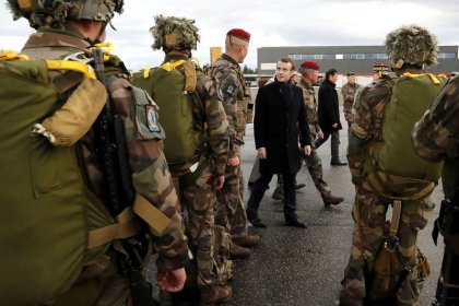 French military to continue Islamic State fight in Levant: Macron